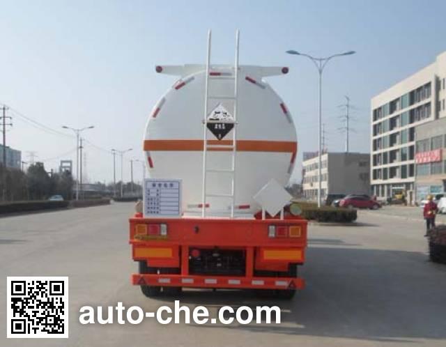 Hengxin Zhiyuan CHX9401GFW corrosive materials transport tank trailer