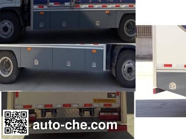 Tianshun CHZ5090XYM horse transport van truck