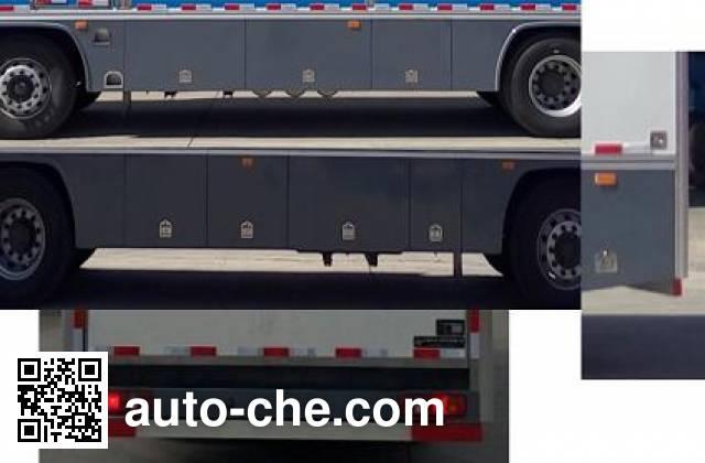 Tianshun CHZ5250XYM horse transport van truck