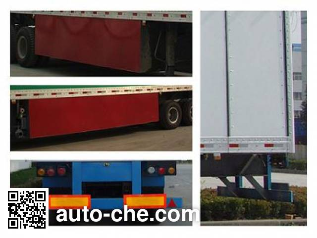 Tianshun CHZ9190XCS toilet trailer