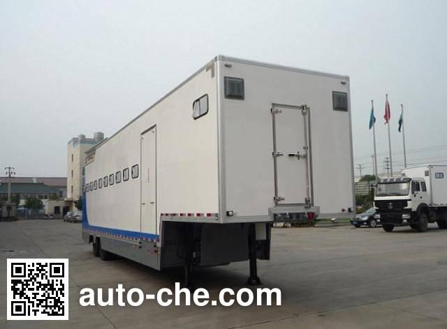 Tianshun CHZ9200XYM horse transport trailer