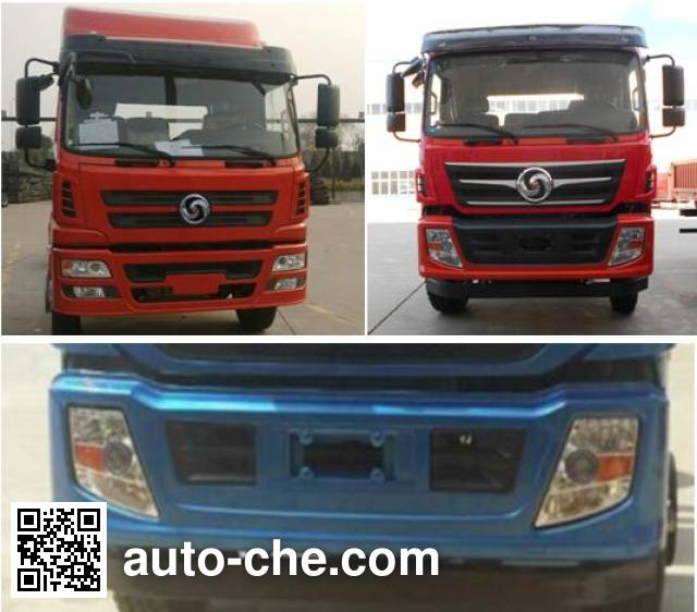 Chuanjiao CJ3160D5AA dump truck chassis