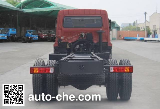 Chuanjiao CJ3250D4TB dump truck chassis