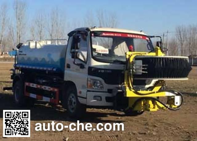 Lugouqiao CJJ5082GQX highway guardrail cleaner truck