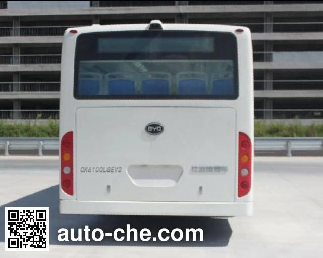 比亚迪牌CK6100LGEV2纯电动城市客车