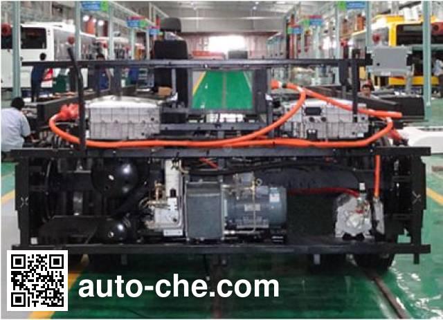 比亚迪牌CK6120DLAEV纯电动客车底盘