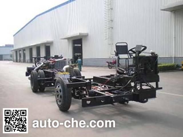 恒通客车牌CKZ6109HNHEV5插电式混合动力客车底盘