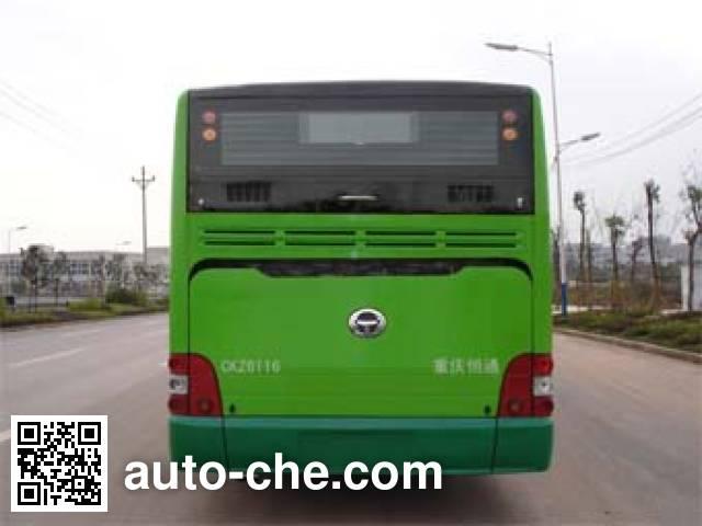 恒通客车牌CKZ6116HNHEV4混合动力城市客车