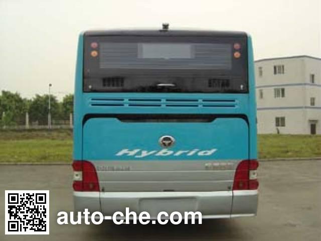 恒通客车牌CKZ6116HNHEVA4混合动力城市客车