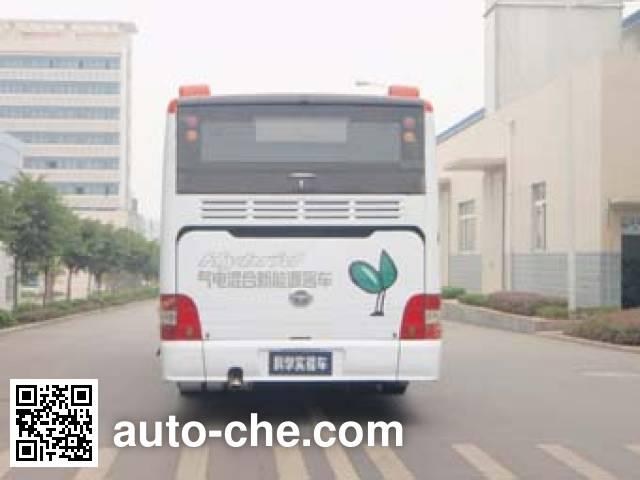 恒通客车牌CKZ6126HNHEV4混合动力城市客车