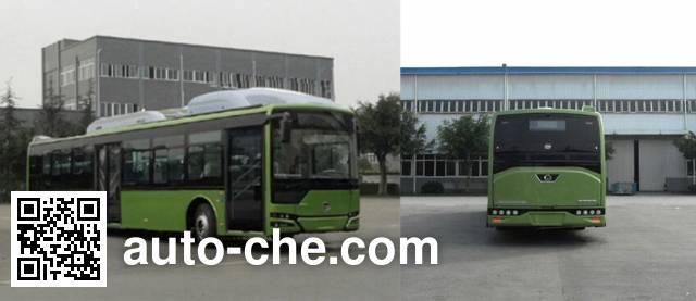 恒通客车牌CKZ6126HNHEVL5插电式混合动力城市客车