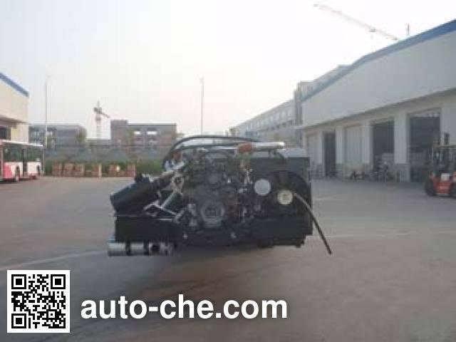 恒通客车牌CKZ6129HNHEV5插电式混合动力客车底盘