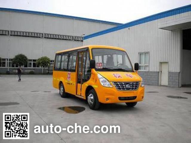 恒通客车牌CKZ6580DX3专用小学生校车
