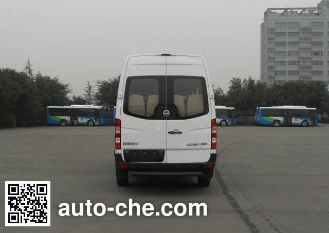 恒通客车牌CKZ6601CBEVA纯电动客车