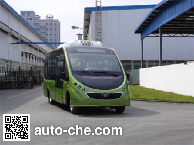 恒通客车牌CKZ6680CHBEV纯电动客车