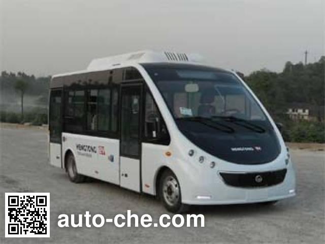 恒通客车牌CKZ6680HBEVB纯电动城市客车