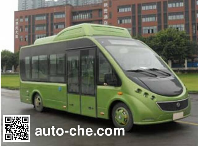 恒通客车牌CKZ6680HBEVF纯电动城市客车