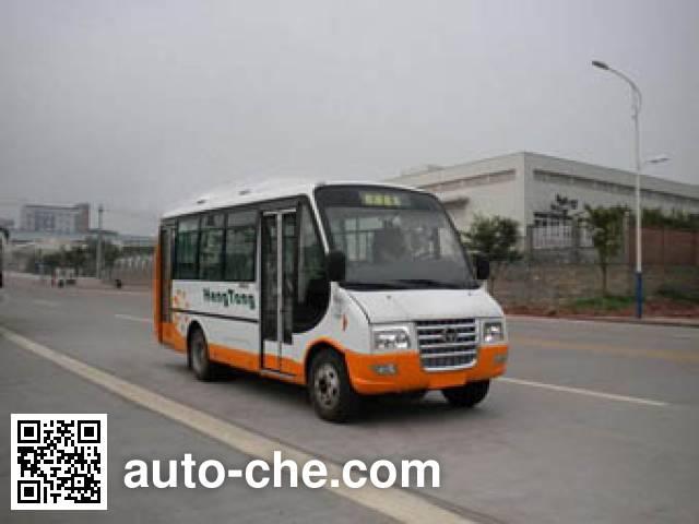 恒通客车牌CKZ6710N4城市客车