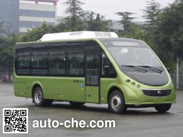 恒通客车牌CKZ6800CHBEV纯电动客车