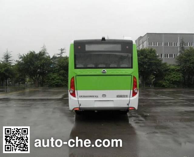 恒通客车牌CKZ6851HBEVA纯电动城市客车