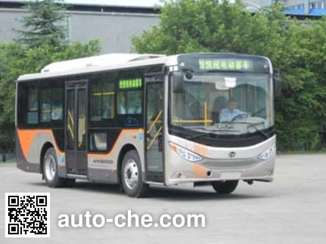 恒通客车牌CKZ6851HBEVD纯电动城市客车