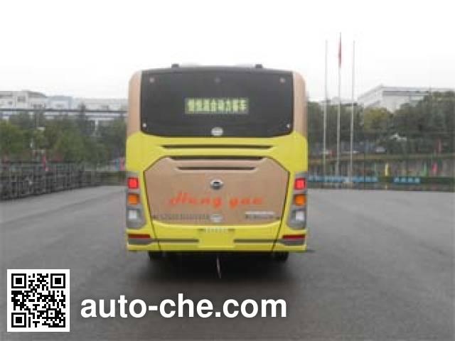 恒通客车牌CKZ6851HNHEVF5插电式混合动力城市客车