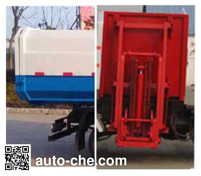 Chufei CLQ5030XTY5BJ sealed garbage container truck