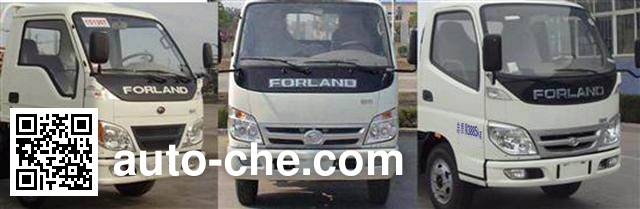 Chufei CLQ5040XTY5BJ sealed garbage container truck