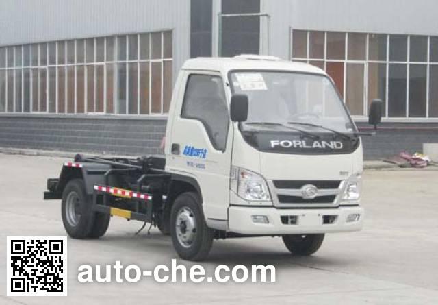 Chufei CLQ5040ZXX5BJ detachable body garbage truck