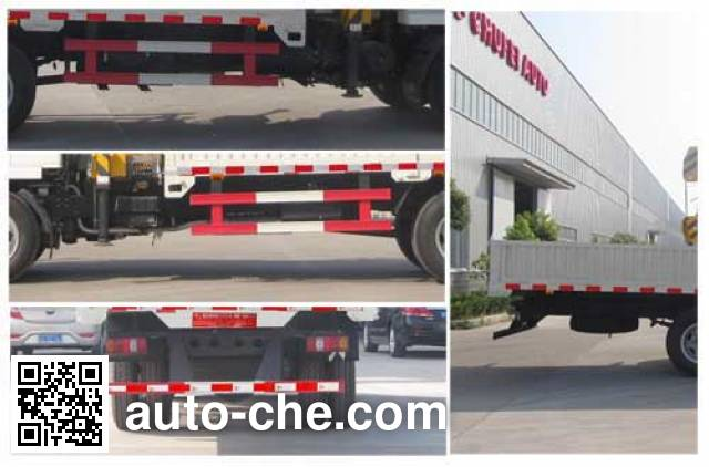 Chufei CLQ5150JSQ4NJ truck mounted loader crane