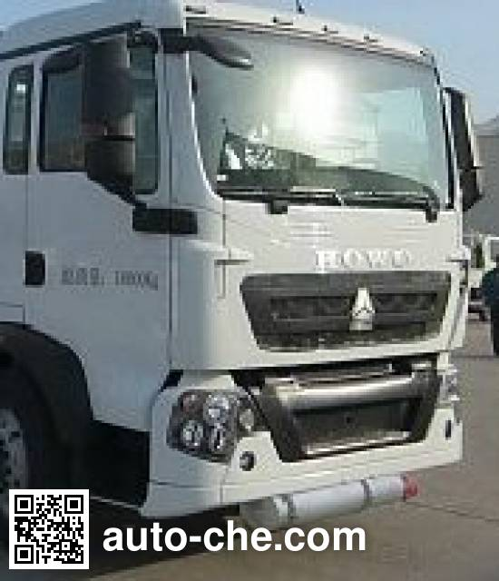 Chufei CLQ5160GFW4ZZ corrosive substance transport tank truck