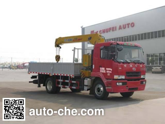 Chufei CLQ5160JSQ4HN truck mounted loader crane