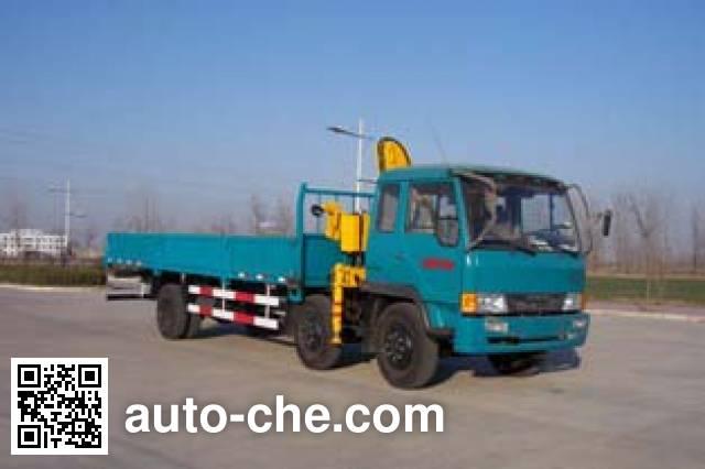 Chufei CLQ5170JSQ3CA truck mounted loader crane
