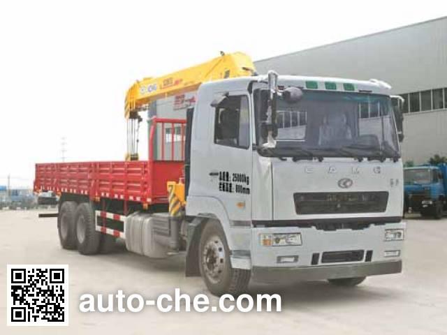 Chufei CLQ5250JSQ4HN truck mounted loader crane
