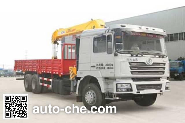 Chufei CLQ5250JSQ4SX truck mounted loader crane