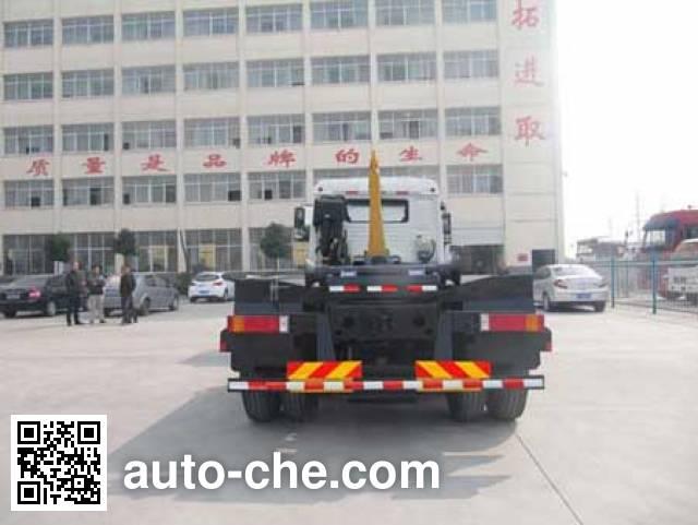 Chufei CLQ5250ZXX5ZZ detachable body garbage truck