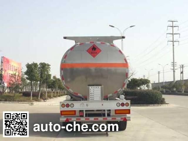 Chufei CLQ9350GYYBA aluminium oil tank trailer