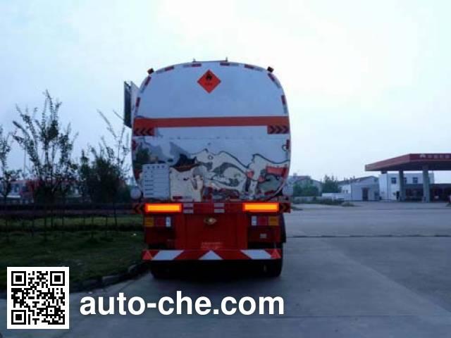 楚飞牌CLQ9400GRY易燃液体罐式运输半挂车