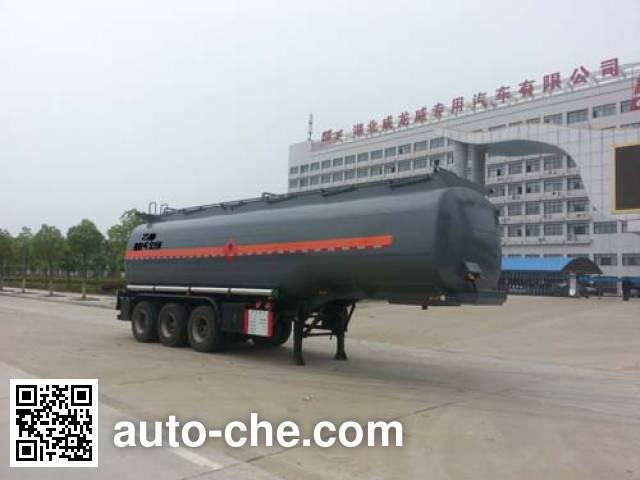 楚飞牌CLQ9401GRYB易燃液体罐式运输半挂车