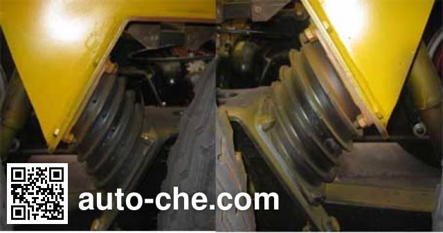 Chufei CLQ9406GRY flammable liquid tank trailer