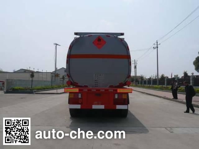 Chufei CLQ9402GRY flammable liquid tank trailer