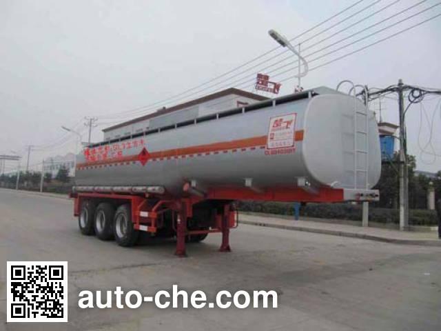Chufei CLQ9403GRY flammable liquid tank trailer