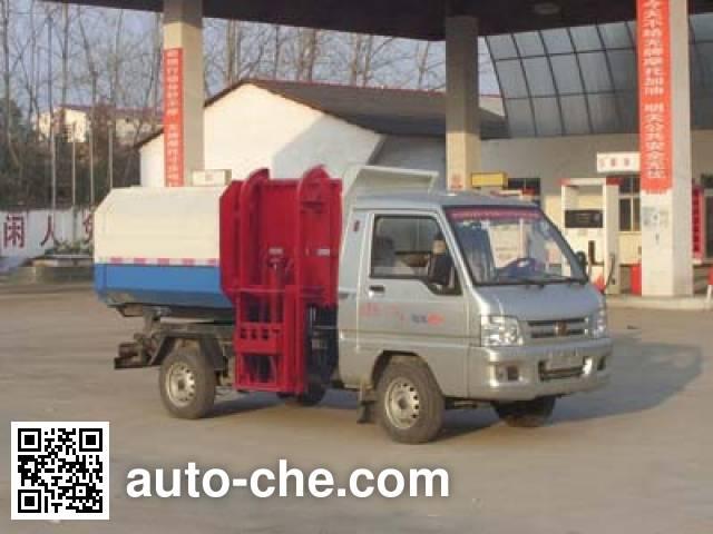 程力威牌CLW5031ZZZB5自装卸式垃圾车