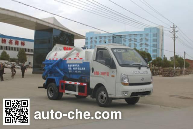 Chengliwei CLW5040GXWB4 sewage suction truck
