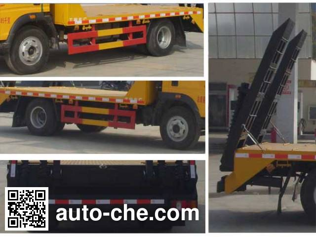 Chengliwei CLW5040TPBZ4 flatbed truck