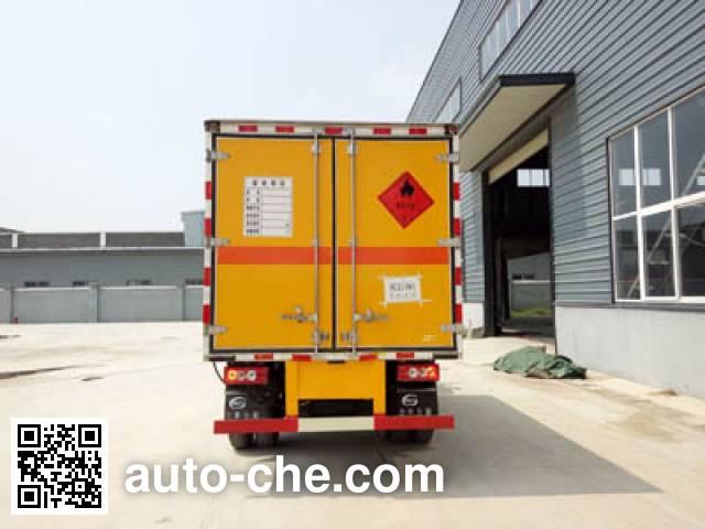程力威牌CLW5040TQPB5气瓶运输车