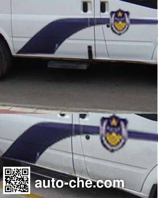 Chengliwei CLW5040XQCJ5 prisoner transport vehicle