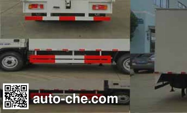 Chengliwei CLW5040XWTB5 mobile stage van truck