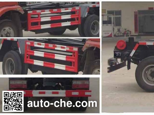 程力威牌CLW5040ZXXE4车厢可卸式垃圾车