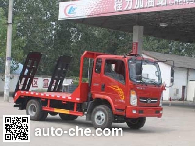 程力威牌CLW5041TPBZ4平板运输车